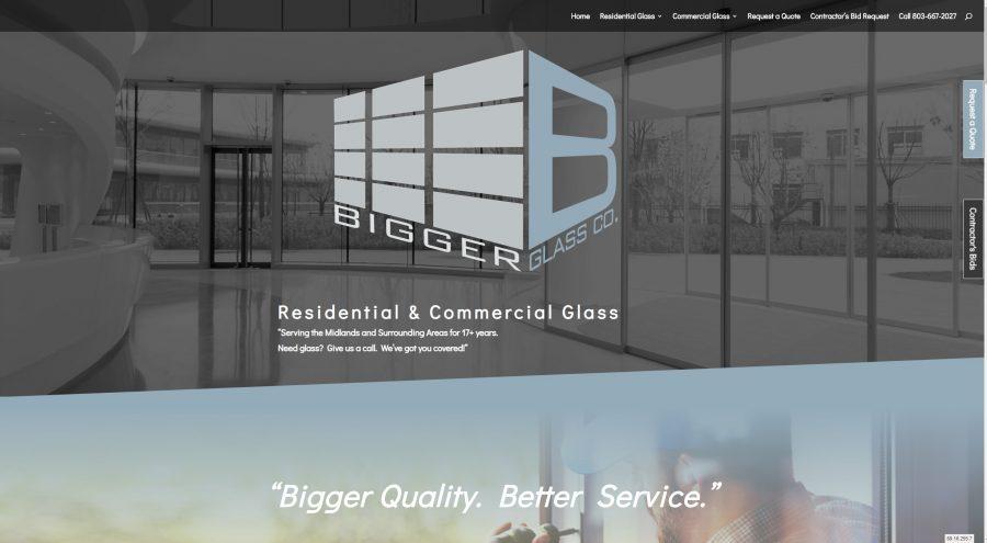 Glass Company Website Columbia Sc